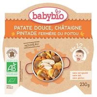 Patate douce Châtaigne Pintade fermière du Poitou