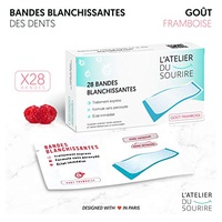 Teeth whitening strips raspberry flavor - White tooth solution