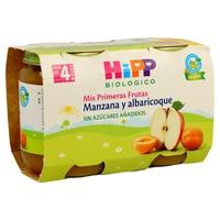 Tarritos de Albaricoque y Manzana Bio (4 meses)