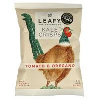 Chips de Kale con Tomate y Orégano
