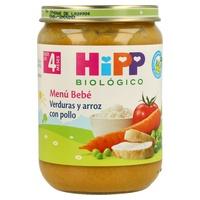 Tarrito Bio Verduras y Arroz con Pollo (4 meses)
