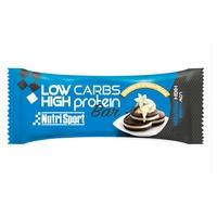 Barre protéinée à faible teneur en glucides (saveur de biscuits à la crème)