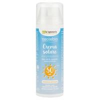 Crema solare alta protezione bimbi e pelli sensibili SPF 50 Senza Filtri Chimici