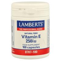 Vitamina E 250 UI