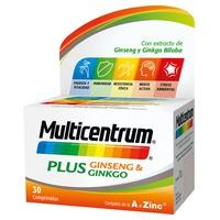 Multicentrum Plus Ginseng y Ginkgo