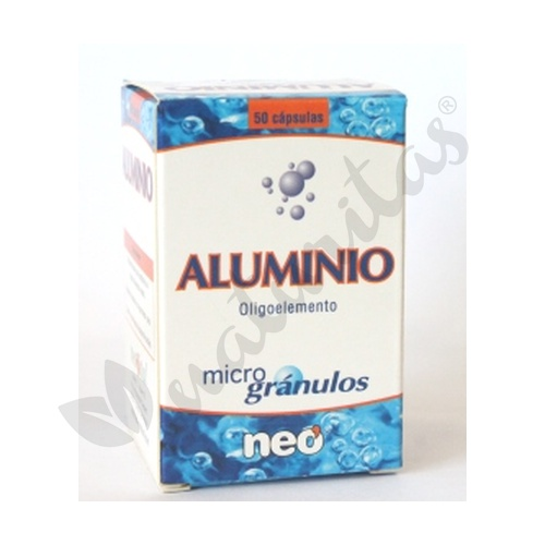 Aluminio  50 cápsulas de Neo Vital Health