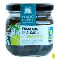 Salada de algas em molho de vinagrete