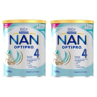 NAN OPTIPRO 4 2x800g 50% dto segunda Unidad