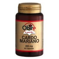 Cardo Mariano 60 cápsulas de 400 mg de Obire