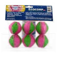 Bolas de Velcro anti-pelusas y manchas para lana