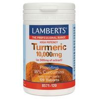 Turmeric (Cúrcuma) 120 Comprimidos de 10.000 mg de Lamberts