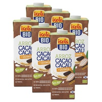 Bebida de Arroz, Quinoa y Cacao Bio