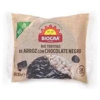 Tortas de Arroz con Chocolate Negro Monodosis Bio