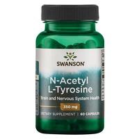 N-acetil L-tirosina, 350 mg