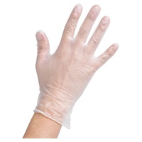 Vinyl gloves with powder M - 100 units -