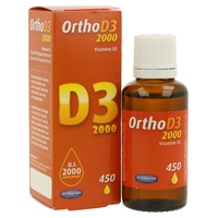 Vitamina Ortho D3 2000Ui