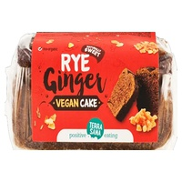 Vegan Ginger Rye Cake