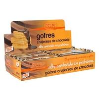 Gofres Crujientes de Chocolate
