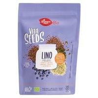Vitaseeds Bio gemahlener Flachs, Sonnenblume, Sesam, Kürbis und Blaubeeren