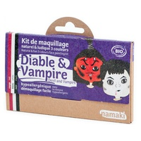 Kit Maquillaje Infantil Diablo y Vampiro Bio
