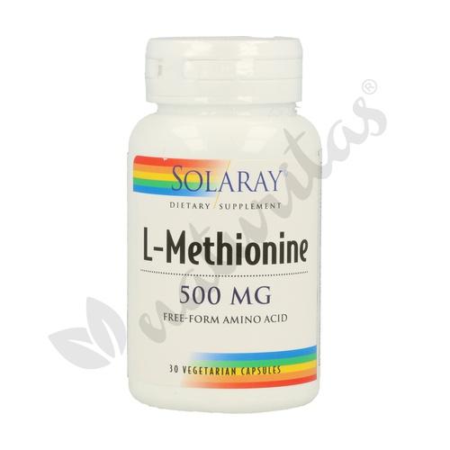 L-Metionina 30 cápsulas de 500 mg de Solaray - Kal