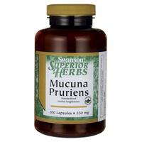 Superior herbs mucuna pruriens - standardized 350mg