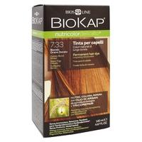 Tinte Delicato + Golden Blond Wheat 7.33+