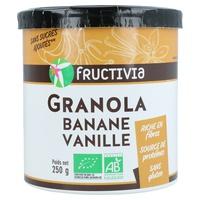 Granola croustillants Banane -Vanille
