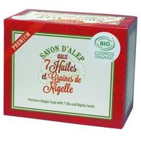 Jabón de Alepo Premium con 7 aceites esenciales