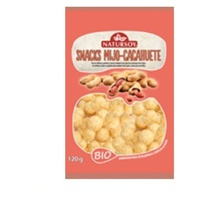 Snacks de Milho e Amendoim Bio