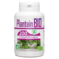 Plantain Organic Leaf 400 mg