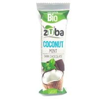 Barrita de Coco Menta con Chocolate Negro Bio
