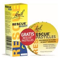 Promo Pack Bach Rescue Remedy Night + REGALO Pastillas Naranja Rescue