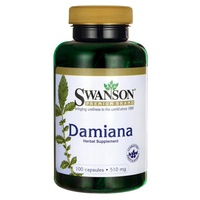 Damiana, 510 mg