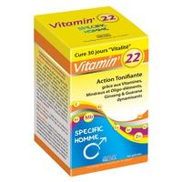 Vitamin 22 Vitaminas y Oligo y Plantas (para hombre )