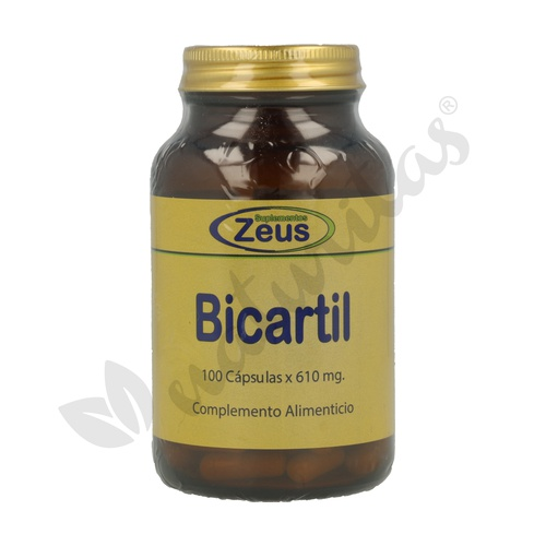 Bicartil 100 cápsulas de 500 mg de Zeus