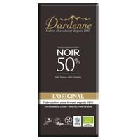 Tableta de chocolate negro 50% original