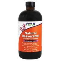 Resvératrol naturel liquide concentré