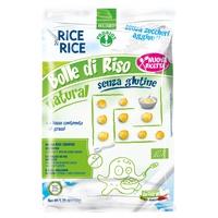 Burbujas naturales de arroz