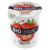 Yogur sin lactosa Fresa Bio