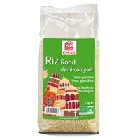 Arróz Semi Integral Redondo 1 Kg de Celnat
