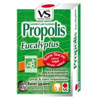 Organiczne żelki eukaliptusowe z propolisu bez cukru