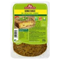 Hamburguesa Quinoa, Kale, Lentejas, Pasas y Almendras