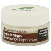 Crema notte all'olio di cocco vergine