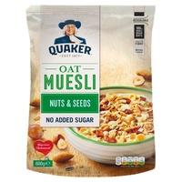Quaker Muesli Oat Frutos secos y semillas