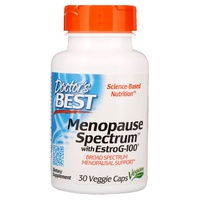 Espectro de la menopausia con EstroG-100