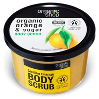 Organic Sicilian Orange and Sugar Body Scrub