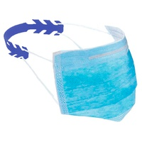 Save Ears for Masks Adult Polyethylene Blue