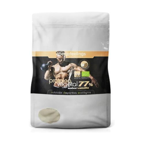 Organic Proteína Vegetal 77% Vainilla