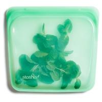 Saco de silicone reutilizável de hortelã